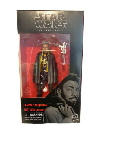Star Wars The Black Series  6-inch Figure Diamond Select Lando Calrissian #65