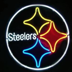 Neon Light Sign Pittsburgh Steelers