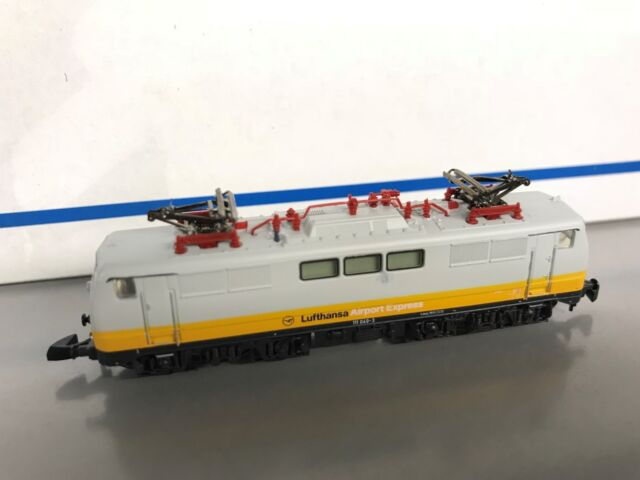Märklin Spur Z 81551 Lufthansa E-Lok ohne Waggons mit Originalverpackung