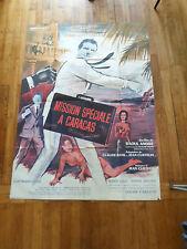 Affiche cinéma - Mission spécial à caracas - 120 / 160