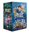 Amulet #1-7 Box Set by Kazu Kibuishi (Multiple copy pack, 2016)