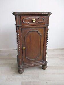 Comodino-in-noce-seconda-meta-039-800-tavolino-mobiletto-molto-bello