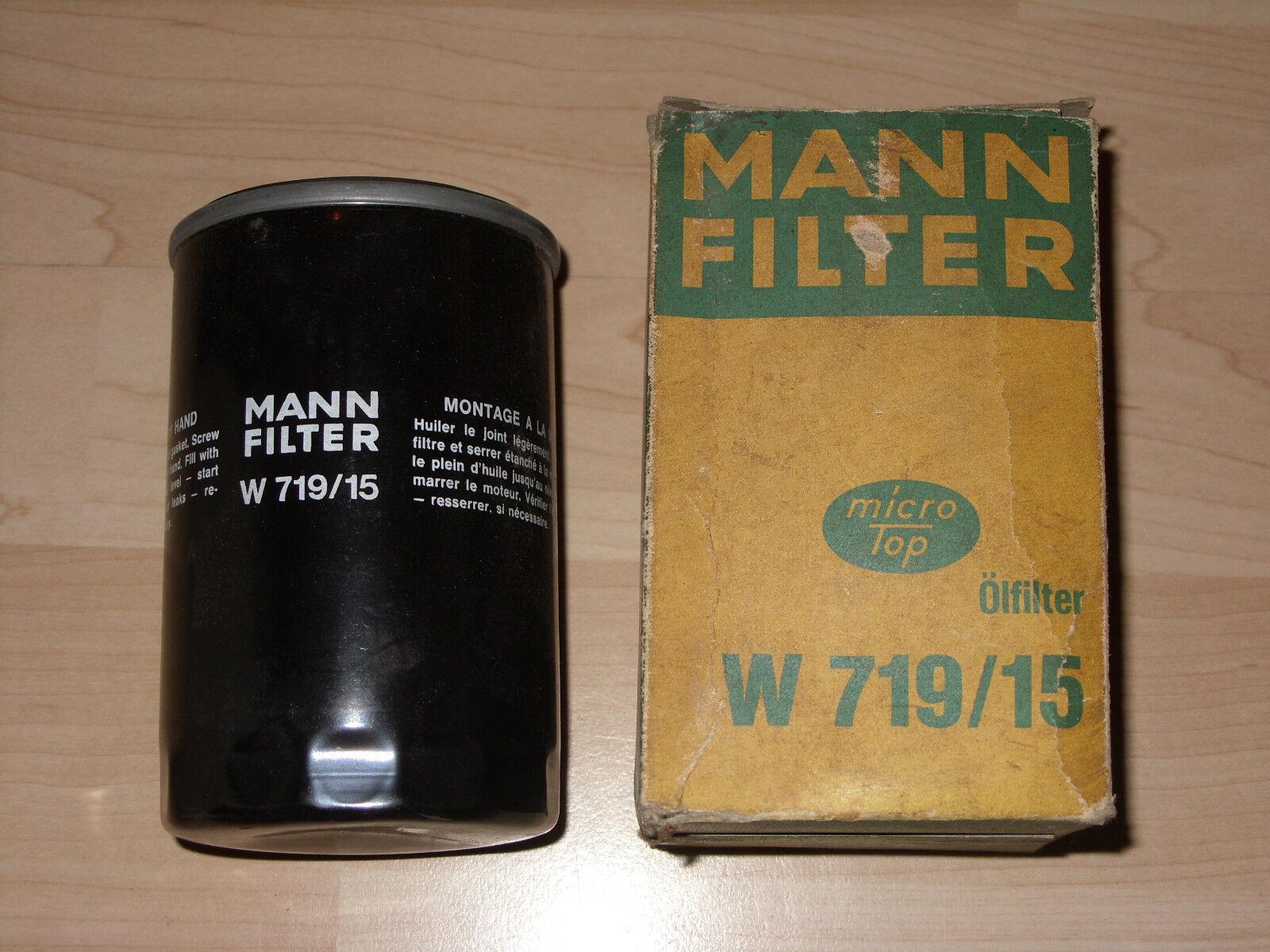 Mann Oil Filter Spin On For BMW Z1 2.5
