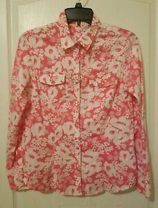 Cotton Pearl Snap Shirt