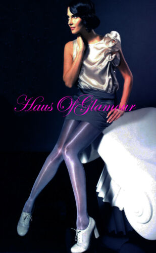 Sheer-to-Waist Super Glossy Luxury Tights MADE IN CHELSEA 40 den Sizes 3 /& 4