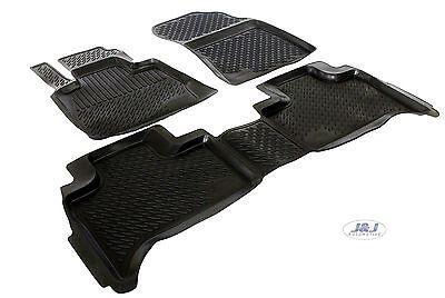 3D EXCLUSIVE TAPIS DE SOL EN CAOUTCHOUC pour BMW X5 E53 1999-2005 4pcs