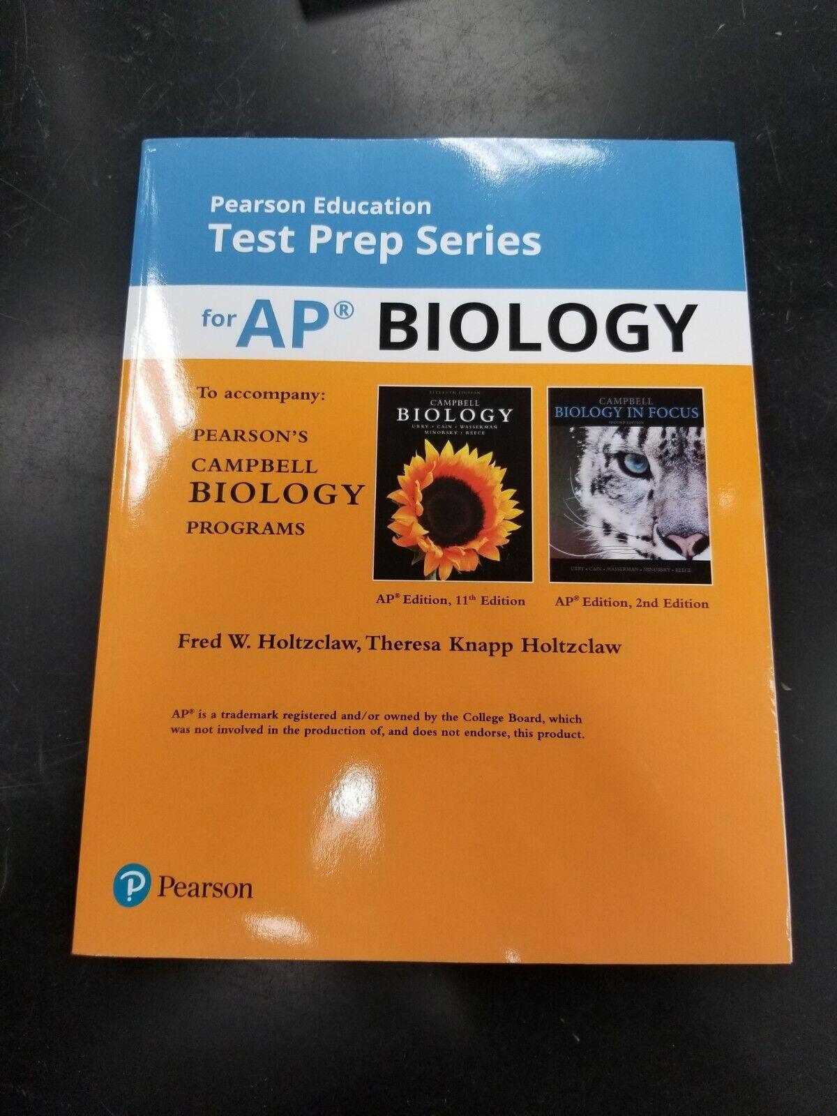 Pearson Education Test Prep Series For Ap Biology Isbn