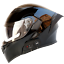 New-Motorcycle-Helmet-Flip-Up-Modular-Motobike-Bluetooth-Helmet-1200-mAh-battery miniature 8