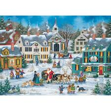 BONNIE WHITE HEARTLAND JIGSAW PUZZLE THE SPIRIT OF CHRISTMAS 1000 PCS #30681