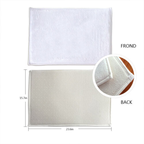 "Xmas Gold Sequin Flannel Non-slip Bathroom Rugs Door Mat Carpet 16X24/"""
