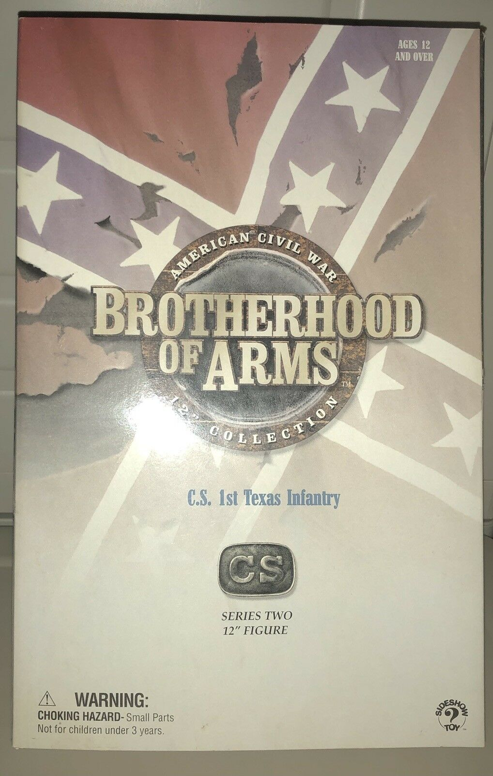 Bredherhood of wars C.S 1st texas infantry series two 12  figure, Read.