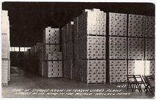 Real Photo Postcard Storage Room @ Texsun Citrus Plant in Weslaco, Texas~107560