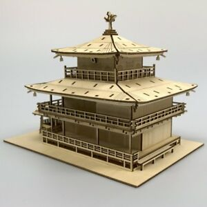 KIGUMI-Ki-gu-mi-Wooden-Art-Kinkakuji-Temple