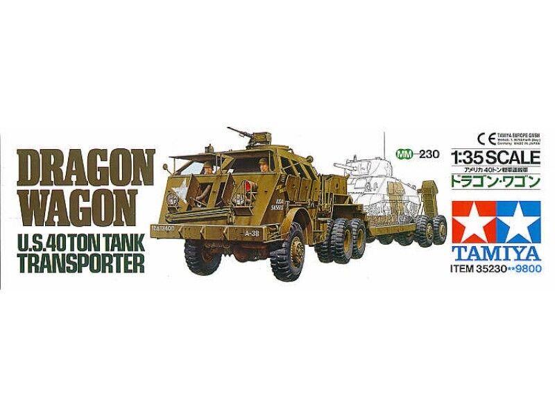 Tamiya 1 35 scale Tank Transporter Dragon Wagon