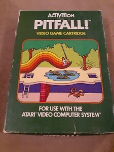 PITFALL by ACTIVISION for ATARI 2600 ▪︎CIB ▪︎FREE SHIPPING ▪︎