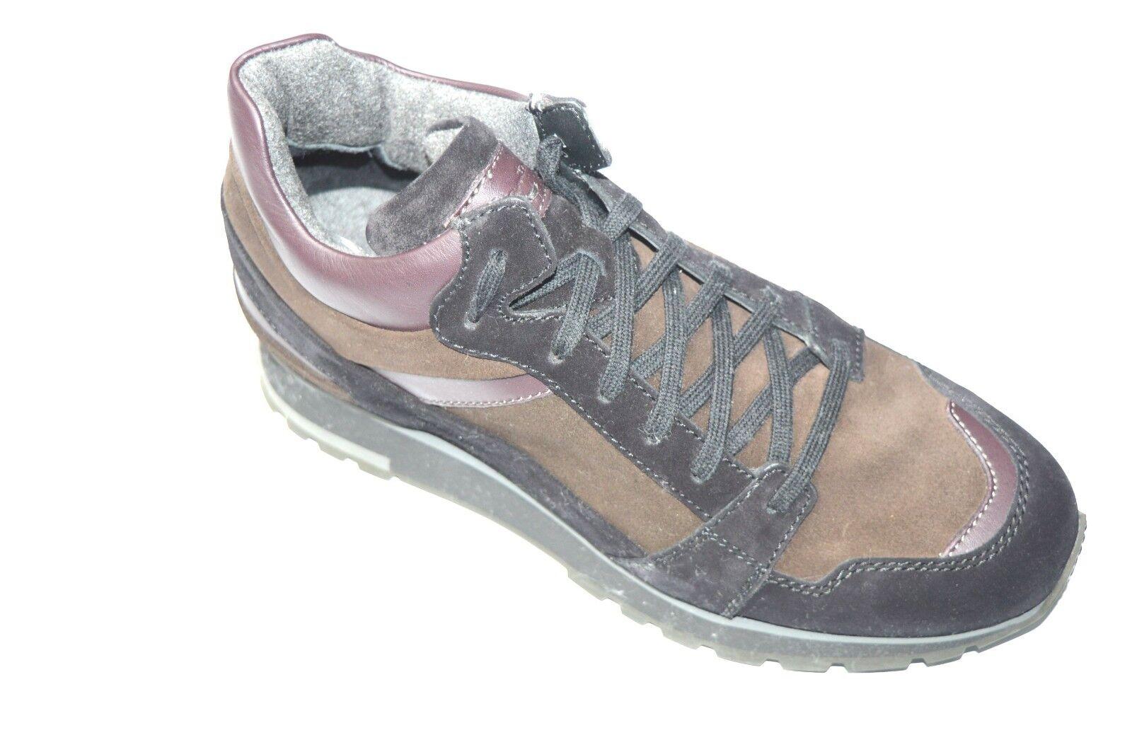 NEW SANTONI Leather Snikers schuhe Casual Sport Größe Größe Größe Eu 40 Uk 6 Us 7 (NE1) 4f5893