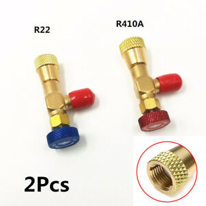 2X-Liquid-Safety-Valve-R410A-R22-Air-Conditioning-Refrigerant-Valve-Core-Remover