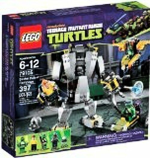 LEGO Lego Teenage Ninja Mutant Turtles Baxter Robot Rampage