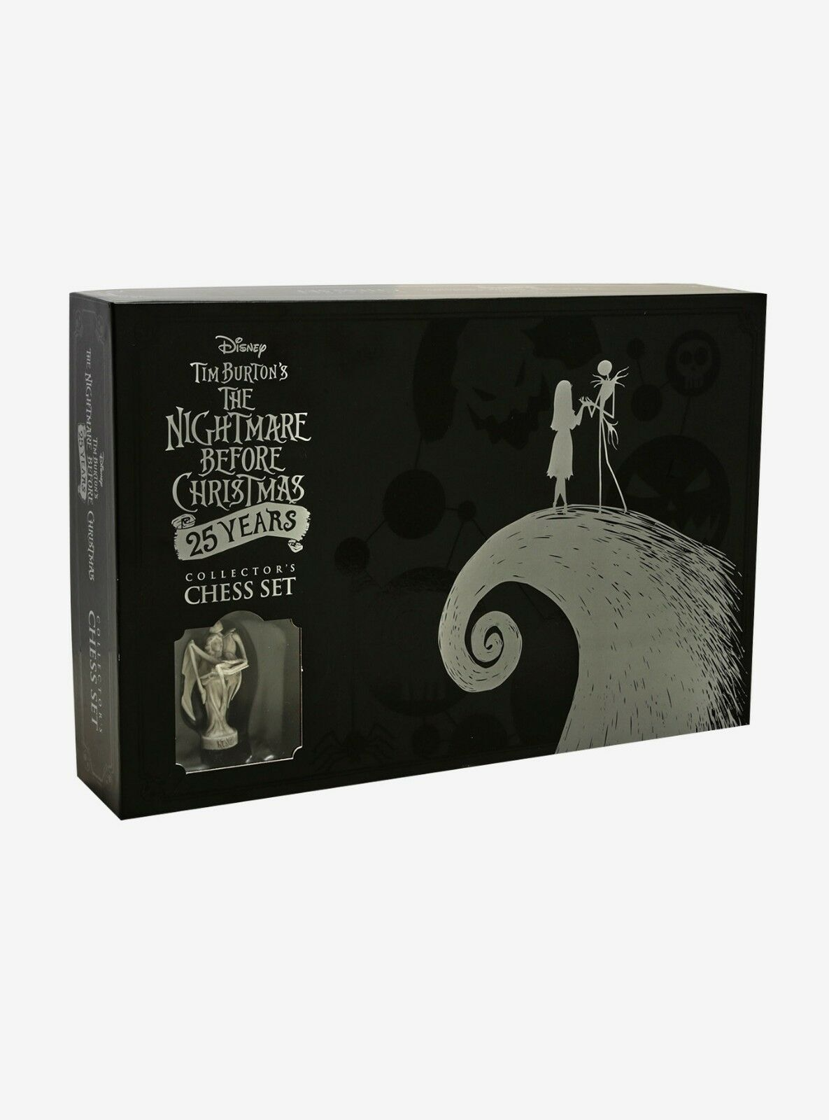 New Sealed Nightmare Before Christmas 25th Anniversary Chess Set Board Game