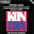 Complete Music for String Quartet (kontra Quartet) Edvard Grieg Audio CD