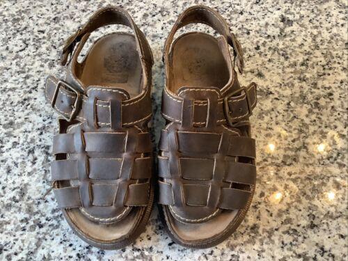 Doc Martins Leather Fisherman Sandals Women Size 6