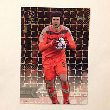 PETR CECH #138 Arsenal FC #ed/10 Made 2016 Topps Champions League UEFA 5X7 GOLD