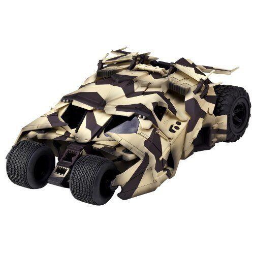Sci-Fi Revoltech Batman The Dark Knight Tumbler Camouflage Articulated Articulated Articulated Vehicle 1a4017
