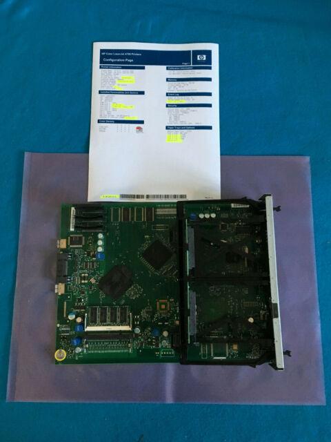 HP Color LaserJet Formatter Board 4700n 4700dn 4700dtn Q5979-60004 Q7492-69003