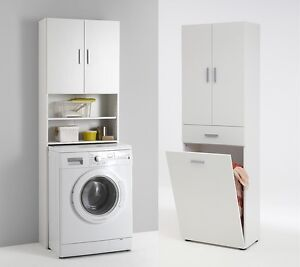 Standalone kitchen units washing machine cupboard for Kitchen cabinet washing machine