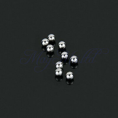 "JC 100 X 1/4"" 6.35mm Steel Ball For Bearing Slingshot Ammo Catapult Bike"