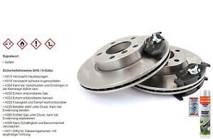 Brake Discs Pads Front Axle For Nissan Almera I, Hatchback