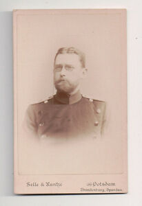 Vintage-CDV-Klotz-2nd-Lieutenant-Eighth-Division-German-Military