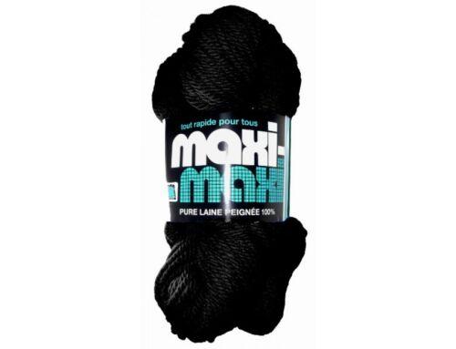 Black Wool yarn for Prayer ropes 100/% pure MAXI 4ply 361feet 110m 200grams