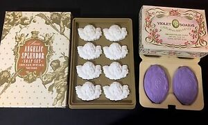 Vintage-Avon-soap-sets-Angelic-Splendor-8-pack-and-Violet-1980-Anniversary