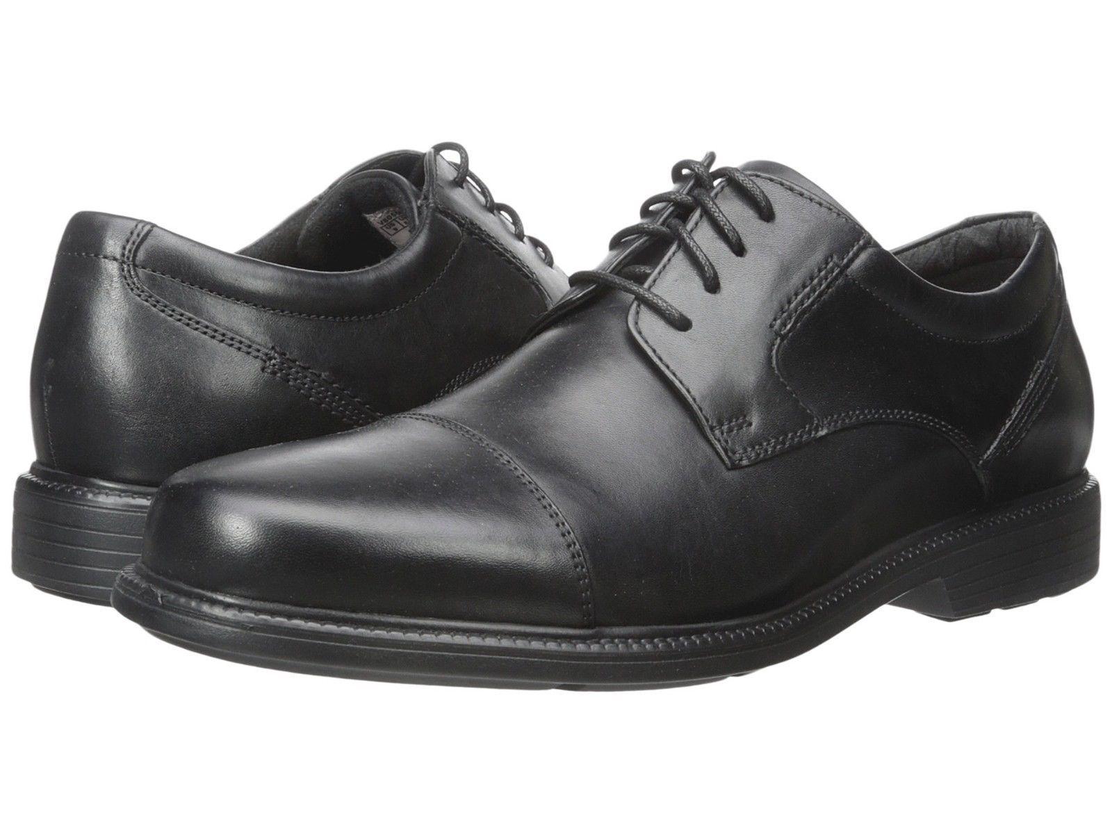 vendendo bene in tutto il mondo Rockport Uomo Charles Road Cap Toe Toe Toe Oxford Dress scarpe V80556  costo effettivo