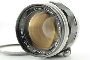 Fast-neuwertig-Canon-50mm-F-1-4-l39-m39-LTM-Leica-Schraube-L-Mount-aus-Japan