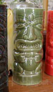 Hawaiian Tiki Mug. Brand New. Free Shipping cocktail bar Green