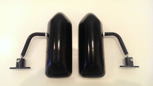 F1 style ABS racing side FENDER mirrors FOR GS350 GS400 GS430 GS450H GS460 GX460