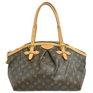 Louis-Vuitton-Tivoli-GM-M40144-Monogram-Shoulder-Satchel-Hand-Tote-Bag-Purse-LV