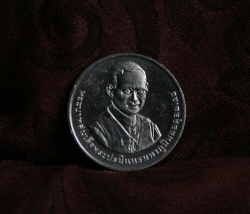 Thai King Bhumibol Adulyadej Rama IX 2015 Thailand 20 Baht Coin Thammasat U