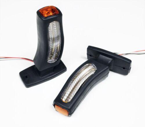 Blinker 2-in-1 Lampe Lkw Anhänger Fahrwerk 2 24v Led Position Marker Lichter
