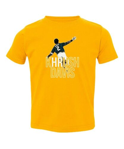 Baseball Fans Oakland Athletics Khris Davis Khrush Home Run Toddler T-shirt