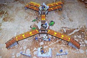 Industrie Of War Multi Niveau Bataille Terrain Warhammer Chef Militaire Mantic
