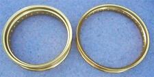 WM3 x 19-36 hole + WM6 x 17-32 PAIR DID gold rims Honda TransAlp 700 Africa Twin