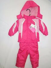 7ff52f36f PINK Platinum Baby Girls Snowboard Bubble Jacket and Snowpants ...