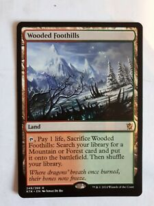 Mtg-wooded-foothills-x-1-great-condition
