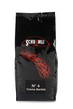 SCHUEMLI N°4 Crema Barista (1 kg Espresso Kaffee in ganzen Bohnen)