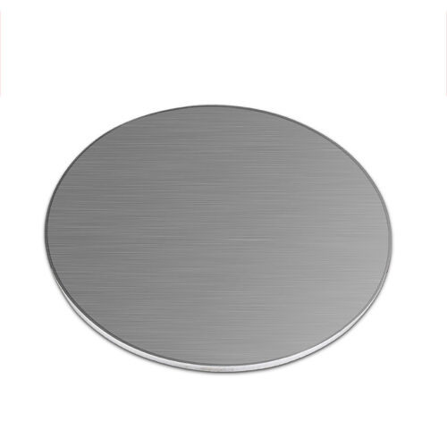Edelstahl Ronden V2A Scheibe Platte Rund Blech t=6mm Ø80-300mm Ungeschliffen NEU