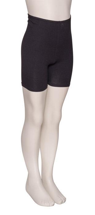 Girls Black Cotton Dance Fitness Sports Gym Hotpants Shorts KDTC05 By Katz