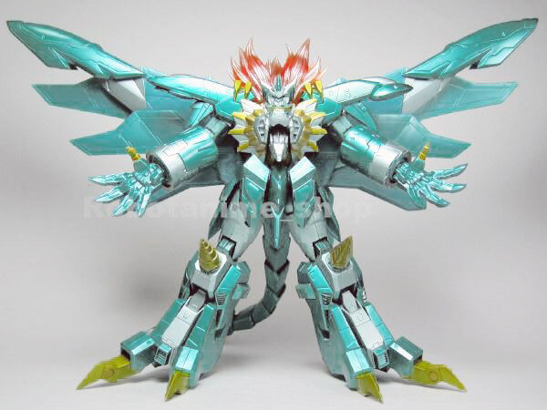 Max Factory Genesic Gaogaigar Final Limited Edition 700 pcs Grün Chogokin